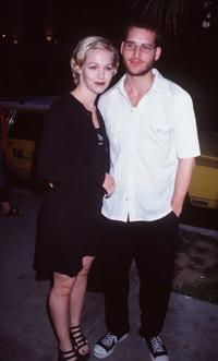 Peter Facinelli and Jennie Garth at a special screening of
