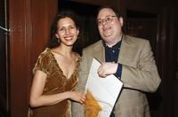 Jessica Hecht and Richard Greenberg at the opening night celebration of