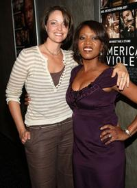 Alison Elliott and Alfre Woodard at the premiere of