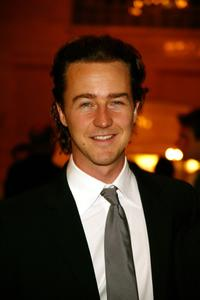 Edward Norton at the cocktail reception of