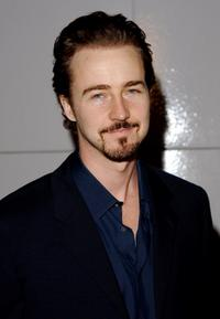 Edward Norton at the premiere of