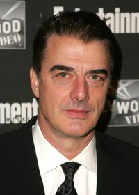 Chris Noth at the Entertainment Weekly Academy Awards viewing party.
