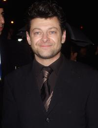 Andy Serkis at the BAFTA Official after show party.