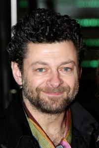 Andy Serkis at the premiere of