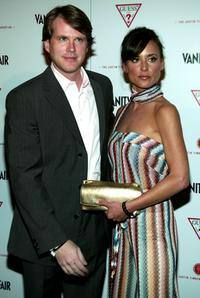 Cary Elwes and wife Lisa Marie at the 'Vanity Fair Amped' pre-Oscar party to benefit the Justin Timberlake Foundation.