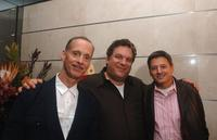John Waters, Jeff Garlin and Ted Sarandos at the after party of