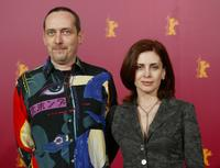 Serge Renko and Katerina Didaskalou at the photocall of