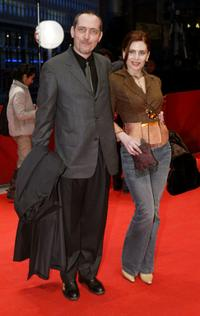 Serge Renko and Katerina Didaskalou at the screening of