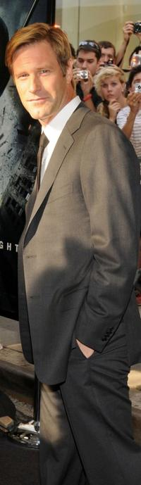 Aaron Eckhart at the world premiere of
