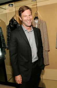 Aaron Eckhart at the after party of the Toronto premiere of
