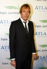 Rhys Ifans at the landmark Grand Opening of Atlantis, The Palm Resort, and the Palm Jumeirah.
