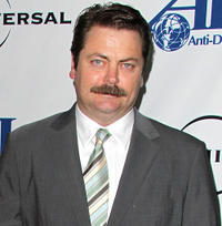 Nick Offerman at the Anti-Defamation League Awards Dinner in California.