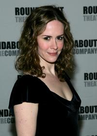 Sarah Paulson at the Roundabout Theater 2005 Spring Gala.