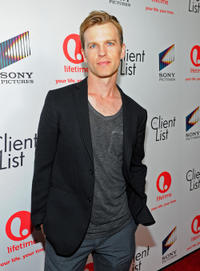 Trevor St. John at the red carpet launch party of