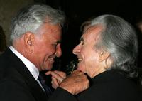 Peter Falk and Arthur Hiller at the 33rd Annual Vision Awards.