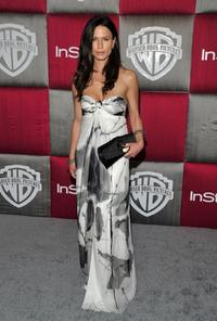 Rhona Mitra at the after party of InStyle/Warner Bros. during the 66th Annual Golden Globe Awards.