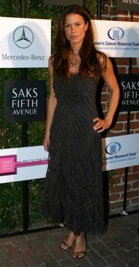 Rhona Mitra at the Saks Fifth Avenue