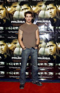 Colin Farrell at a photo shoot for