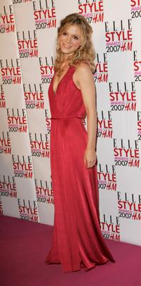 Emilia Fox at the ELLE Style Awards.