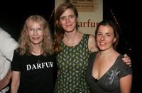 Mia Farrow, Samantha Power and Winter Miller at the after party for a special reading of