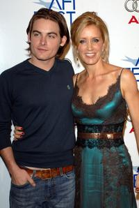 Kevin Zegers and Felicity Huffman at the special screening of