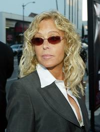 Farrah Fawcett at the premiere of