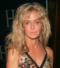 Farrah Fawcett at the after party of