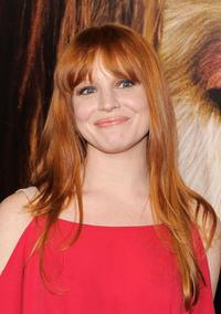 Lauren Ambrose at the New York premiere of