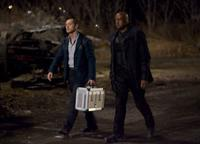 Jude Law as Remy and Forest Whitaker as Jake in