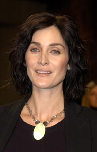 Carrie-Anne Moss at the screening of