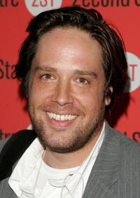 Zak Orth at the after party of the Broadway play