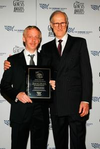 Mike White and James Cromwell at the 22nd Annual Genesis Awards.