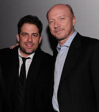 Brett Ratner and Paul Haggis at the HELP HAITI benefiting The Ben Stiller Foundation and The J/P Haitian Relief Organization in New York.