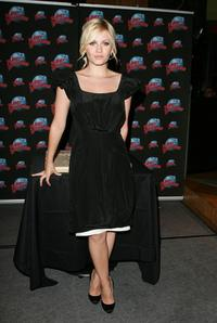 Elisha Cuthbert at the Planet Hollywood Times Square for her handprint ceremony.