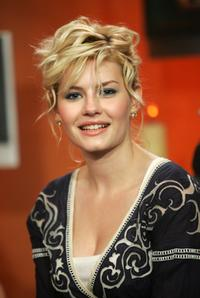 Elisha Cuthbert at the Fuse TV's Daily Download with the cast of
