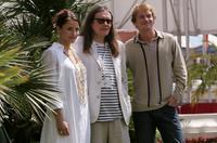 Tuva Novotny, Director Stephen Woolley and Leo Gregory at the photocall of
