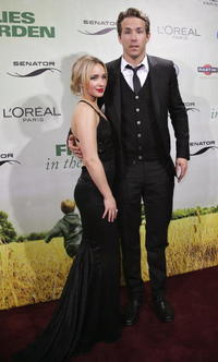Hayden Panettiere and Ryan Reynolds at the after party of