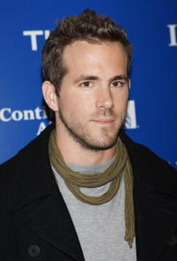 Ryan Reynolds at the press conference for the ING New York City Marathon.