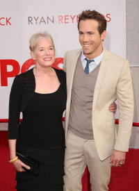 Ryan Reynolds and Guest at the premiere of