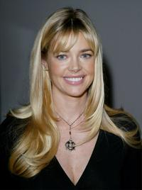 Denise Richards at the Nom by Jennifer Noonan fashion show during the Mercedes-Benz Shows LA Spring 2004 Collections.