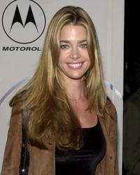 Denise Richards at the party thrown by Motorola.