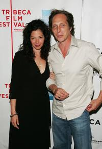 William Fichtner and his wife Kymberly at the premiere of