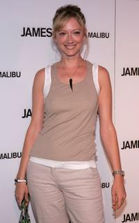 Judy Greer at the James Perse Malibu store opening.