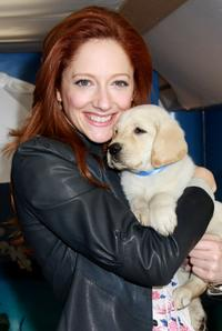 Judy Greer at the Cottonelle Comfort Haven ribbon cutting ceremony and launch of