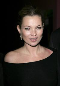 Kate Moss at the afterparty following the