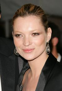 Kate Moss at the Metropolitan Museum of Art Costume Institute Benefit Gala: Anglomania.