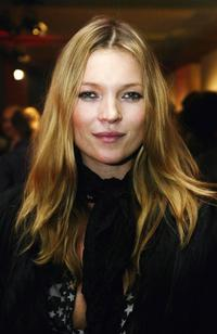 Kate Moss at the Canon private view of exhibition