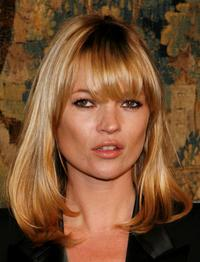 Kate Moss at the fashion industrys battle against HIV/AIDs during the