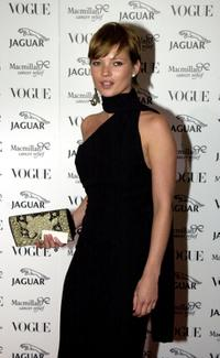 Kate Moss at the Vogue and Jaguar It s Fashion charity gala.
