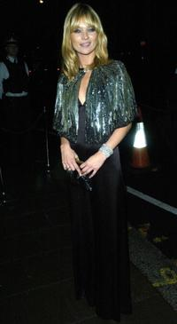 Kate Moss at the new Top Shop